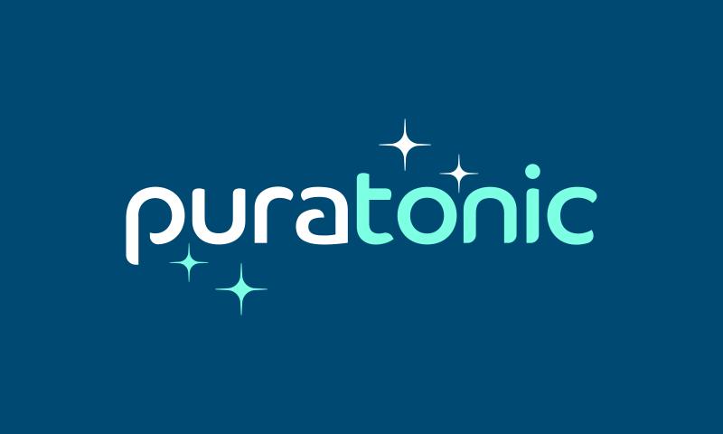 Puratonic - Retail company name for sale