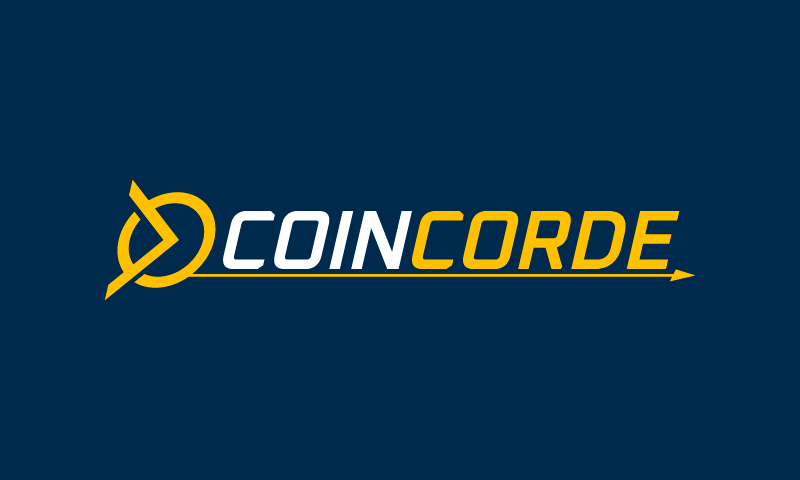 Coincorde - Cryptocurrency domain name for sale