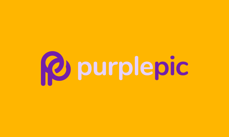 PurplePic logo