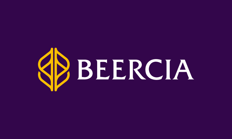 Beercia - Alcohol domain name for sale