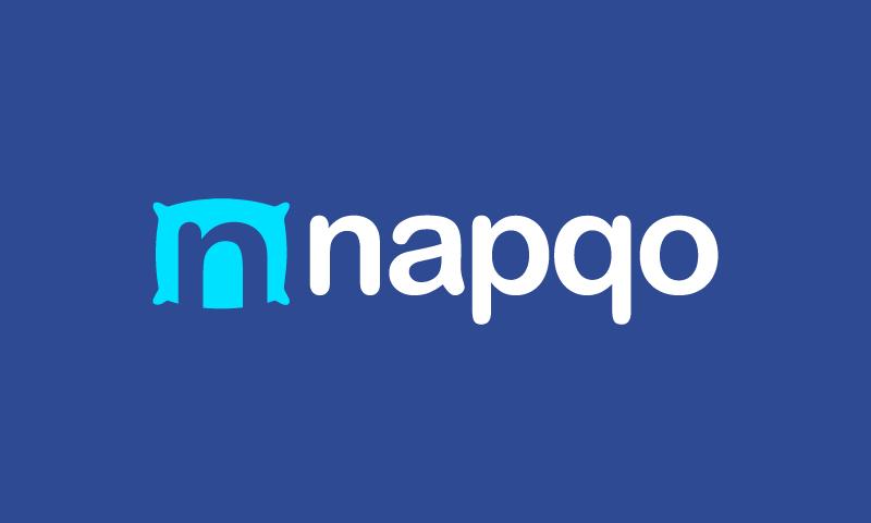 Napqo - Wellness startup name for sale
