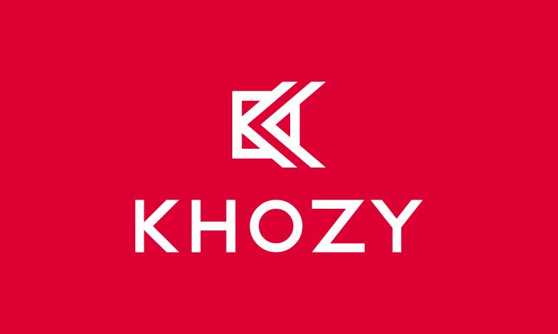 Khozy - Retail domain name for sale
