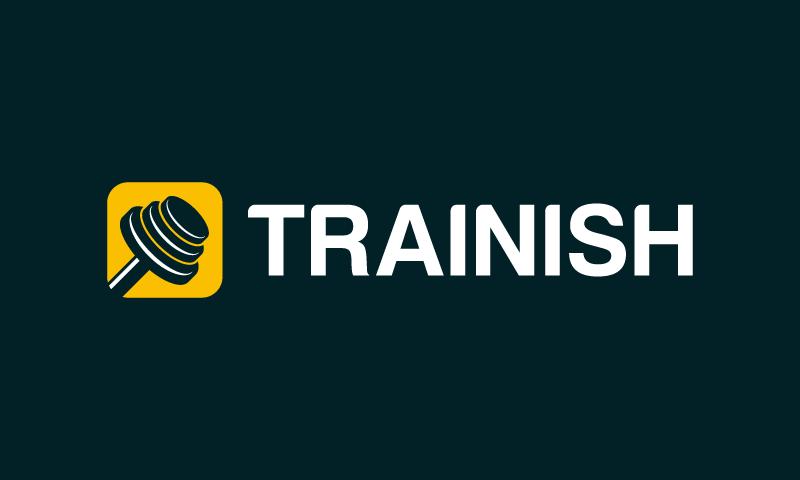 trainish logo