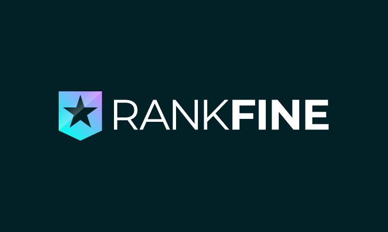 Rankfine - Analytics business name for sale