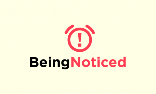 Beingnoticed - Marketing company name for sale
