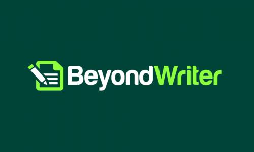 Beyondwriter - Writing startup name for sale