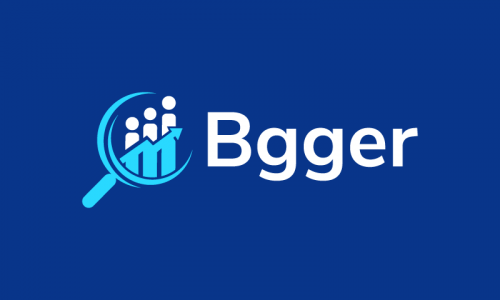 Bgger - Analytics brand name for sale