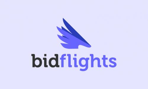 Bidflights - E-commerce company name for sale