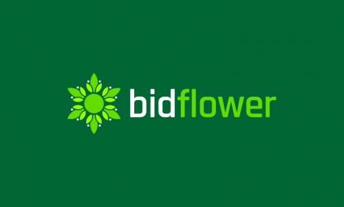 Bidflower - E-commerce domain name for sale