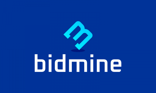 Bidmine - Cryptocurrency brand name for sale