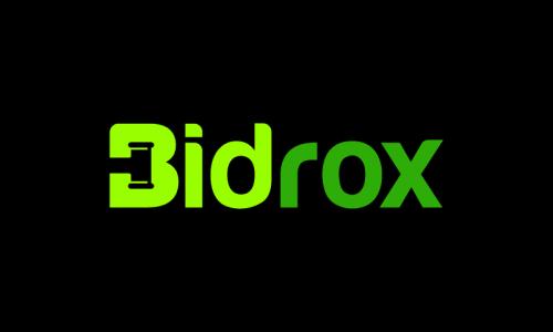 Bidrox - Finance startup name for sale
