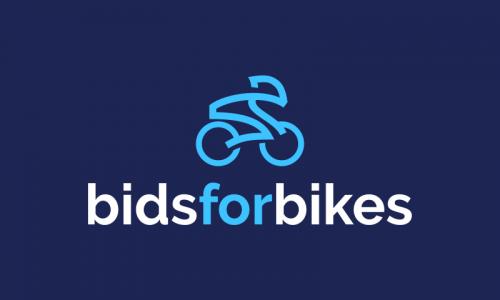 Bidsforbikes - E-commerce company name for sale