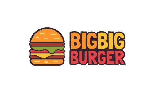 Bigbigburger - Dining startup name for sale