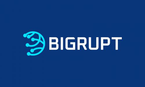 Bigrupt - Business startup name for sale