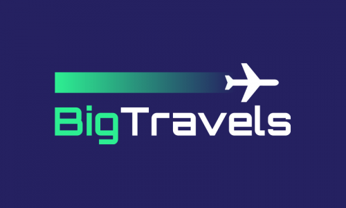 Bigtravels - Travel brand name for sale