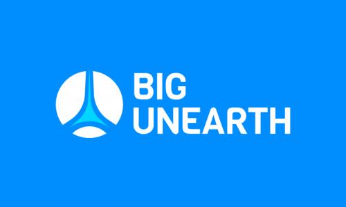 Bigunearth - Retail domain name for sale