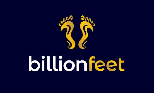 Billionfeet - Fashion domain name for sale