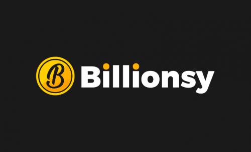 Billionsy - Finance startup name for sale
