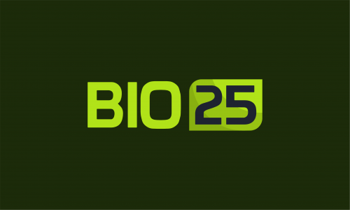 Bio25 - Biotechnology domain name for sale