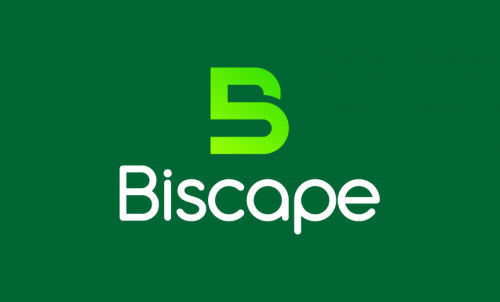 Biscape - Technology startup name for sale