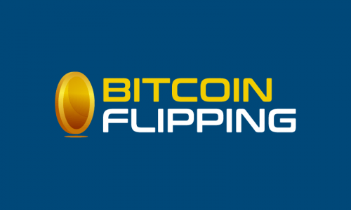 Bitcoinflipping - Cryptocurrency company name for sale