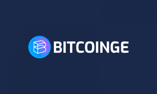 Bitcoinge - Cryptocurrency domain name for sale