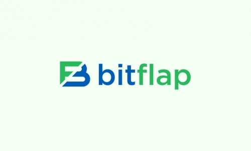 Bitflap - Finance startup name for sale