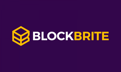 Blockbrite - Cryptocurrency business name for sale