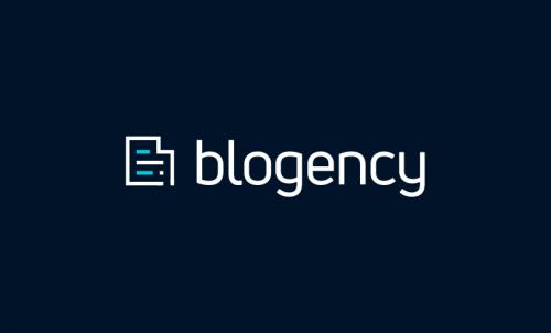 Blogency - Marketing domain name for sale