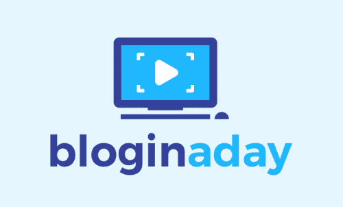 Bloginaday - Writing company name for sale