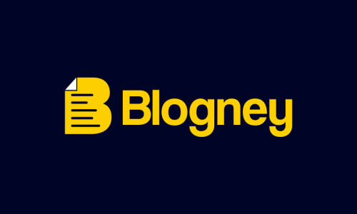 Blogney - Writing company name for sale