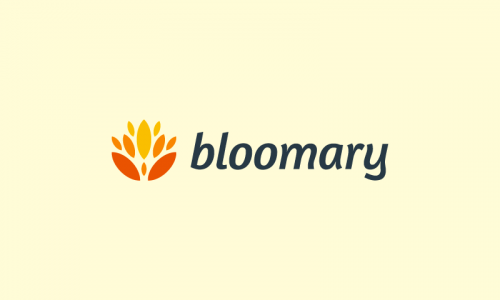 Bloomary - Green industry startup name for sale