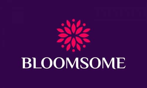 Bloomsome - E-commerce startup name for sale