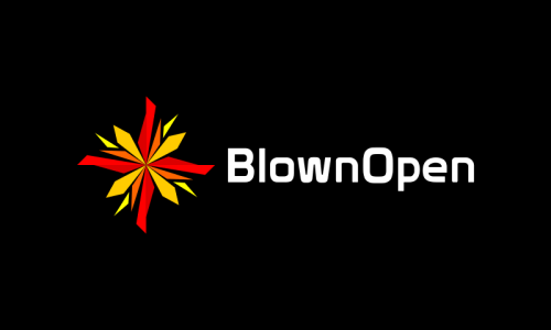 Blownopen - Marketing startup name for sale
