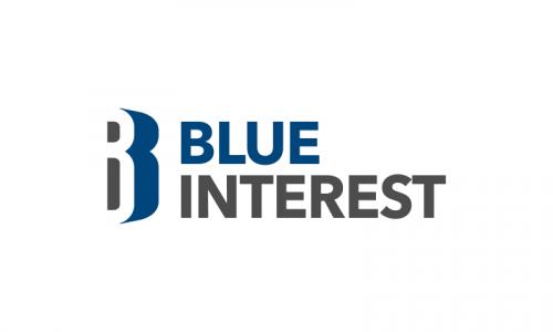Blueinterest - Finance startup name for sale
