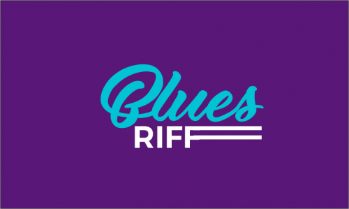Bluesriff - Music business name for sale