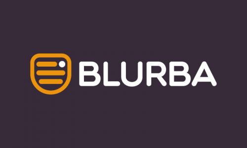 Blurba - E-commerce company name for sale