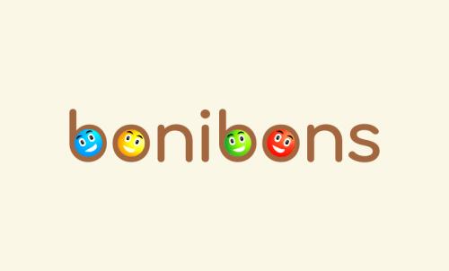 Bonibons - Playful startup name for sale