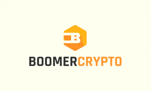Boomercrypto - Cryptocurrency company name for sale