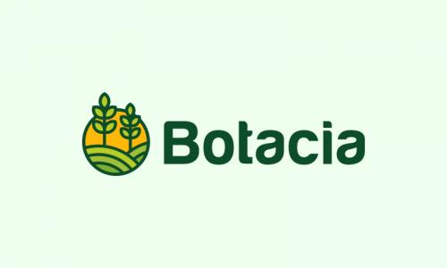 Botacia - Healthcare startup name for sale