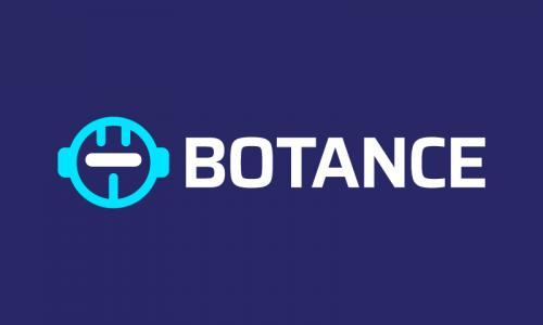 Botance - Robotics startup name for sale