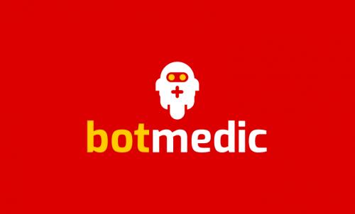Botmedic - Robotics company name for sale