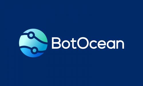 Botocean - Robotics company name for sale