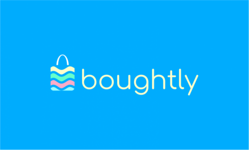 Boughtly - Modern startup name for sale