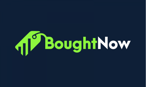 Boughtnow - E-commerce company name for sale