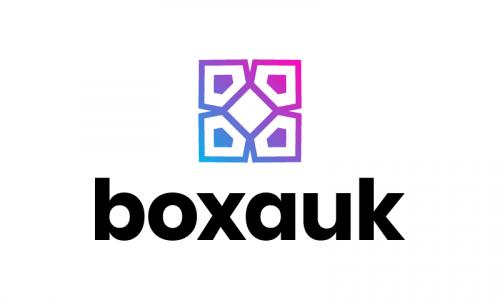 Boxauk - Contemporary domain name for sale