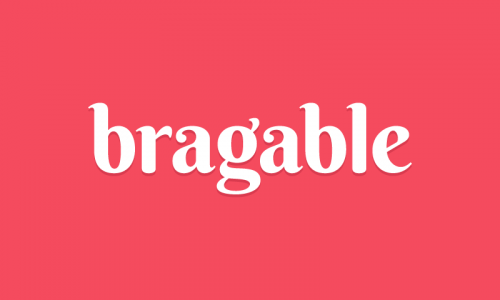 Bragable - Beauty startup name for sale