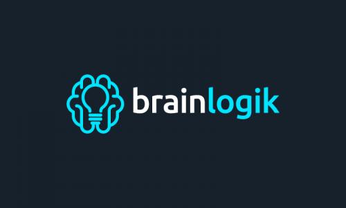 Brainlogik - Logistics startup name for sale