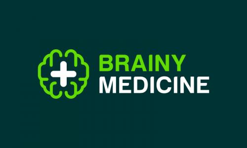 Brainymedicine - Pharmaceutical company name for sale