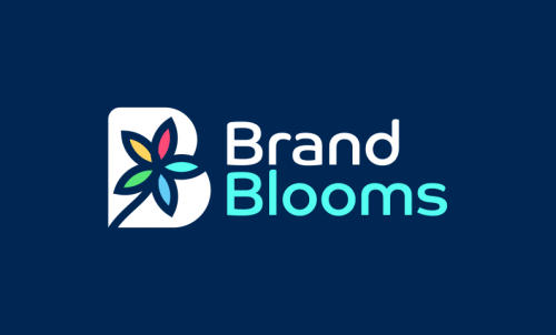 Brandblooms - Marketing startup name for sale
